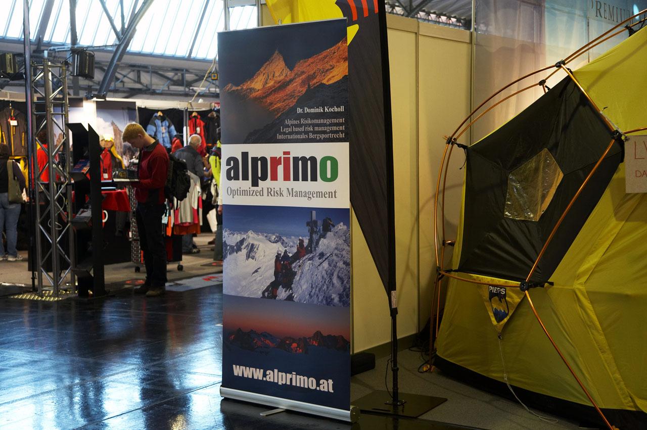 alprimo auf der alpinmesse (Innsbruck)